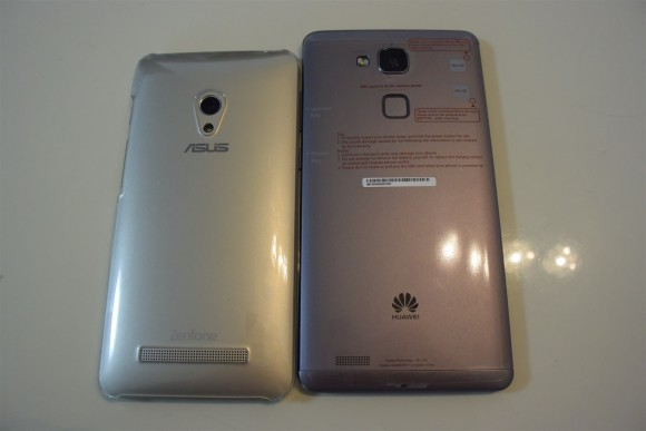 Ascend Mate7 vs ZenFone 5