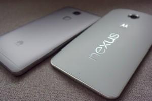 Google Nexus6とファーウェイAscend mate7を実機で比較レビュー