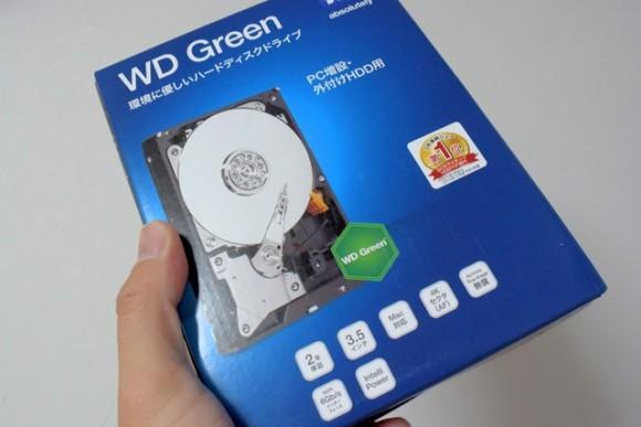 ウエスタンデジタル WD30EZRX-1TBP