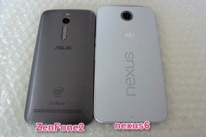 ASUS ZenFone2 vs Google nexus6