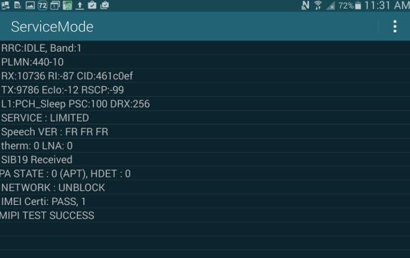 Galaxy Tab S 10.5 SCT21 SIMフリー化方法