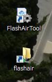 flash air 中国版を日本で使う方法