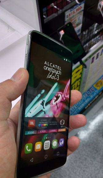 Alcatel OneTouch Idol3(5.5) 店頭レビュー