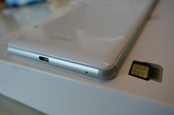 XPERIA C5 Ultra ファーストレビュー USB