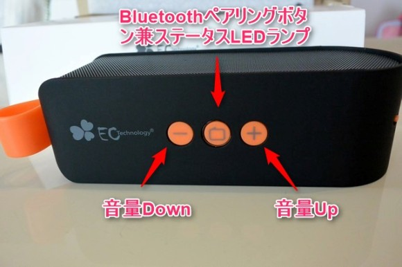 EC Technology 6W Bluetooth4.0スピーカー レビュー