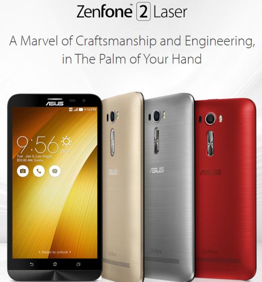 6インチ版ZenFone 2 Laser (ZE601KL)が日本で11月13日発売へ!スペックじっくりレビュー