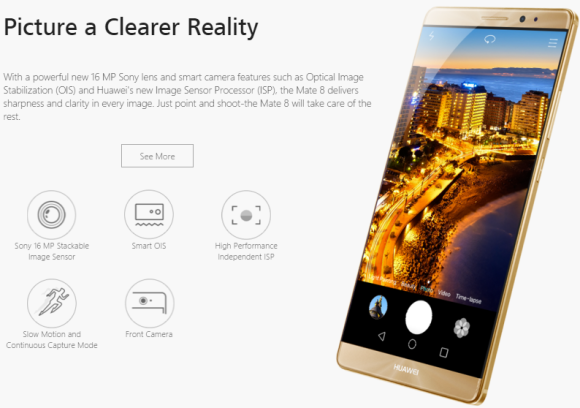 HUAWEI Mate8 global version