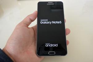 『Galaxy Note5 N9208』ファーストレビュー(いろいろ触ってみた編)