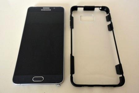 Galaxy Note5 ケース カバー レビュー