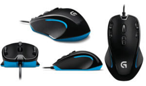 12月7日限定 『LOGICOOL ゲーミングマウス G300s』が2,487円などゲーミングマウスが他にもamazonタイムセール中