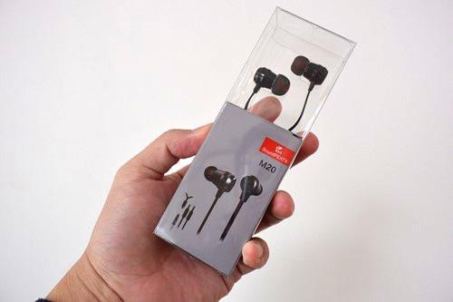 SoundPEATS(サウンドピーツ) カナル型イヤホン マイク付き M20