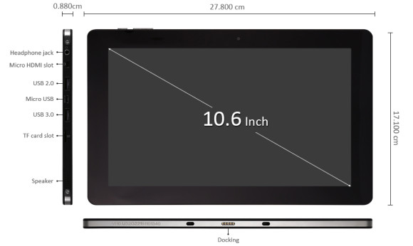 Chuwi Vi10 Ultimate Tablet PC 64GB ROM