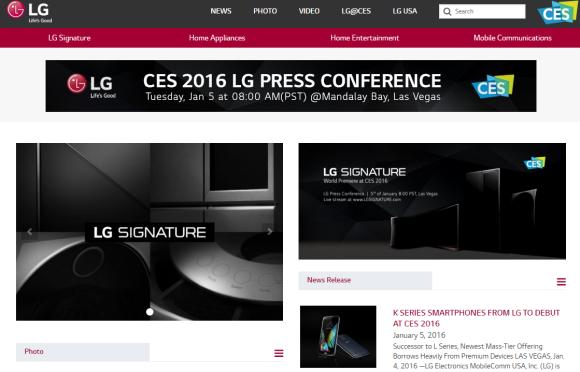 LG CES2016
