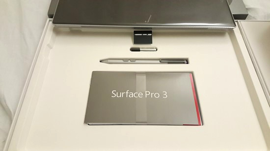 Surface Pro3 レビュー