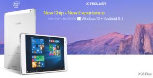 【クーポン情報追加】iPad Airクローン『Teclast X98 Plus』デュアルOS/QXGA/9.7インチ4GB RAM+64GB eMMCとクラス最強スペック