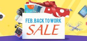 GearBestがまたセール『Feb. Back To Work』!タブレット・スマホ・アクションカムが安い~