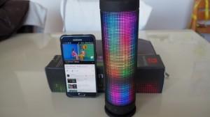 SoundSOUL『360度LED bluetooth スピーカー』を試してみた! 遊び心もあり本気で使えるスピーカー