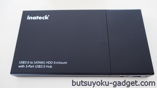 Inateck HDDケース USBハブ 一体型