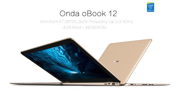 MacBook Airクローン?『Onda oBook12』2in1ノートPCが発売!12.2インチで1.2kgの軽量ノート