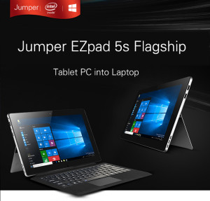 Surfaceライクのキックスタンド型11.6インチタブレット『Jumper EZpad 5s Flagship』