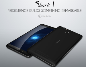 【クーポン情報追加】中華スマホ 6インチ『LEAGOO Shark1』が発売! 6300mAhバッテリ,3GB RAMで2万円前半