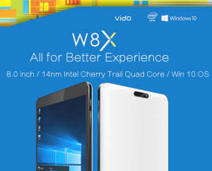 【クーポンで8,000円台】1万円で買える8インチタブレット『Vido W8X』 手軽なWindowsタブレットはいかが?