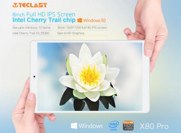 【セールで8983円!】これよさげ!8インチWUXGA『Teclast X80 Pro』発売! Win+AndroidデュアルOS搭載