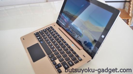 ONDA oBook10 キーボード レビュー