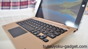 10.1インチWin10タブ『ONDA oBook10』に専用キーボード取り付けてみた