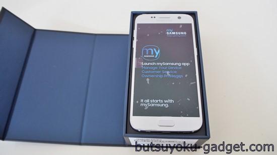 Galaxy S7 実機レビュー SM-G930FD