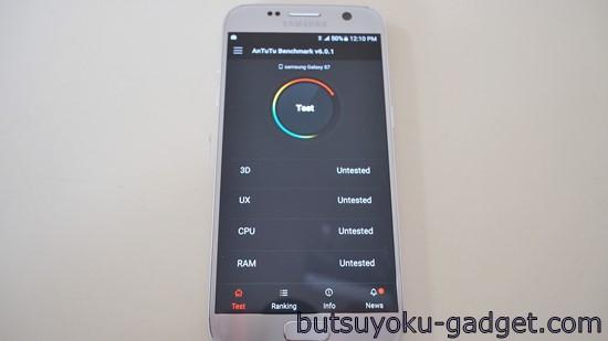 Galaxy S7 レビュー antutu