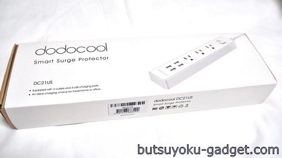 dodocool 5V 2.4A 4ポートUSB付き コンセントタップ
