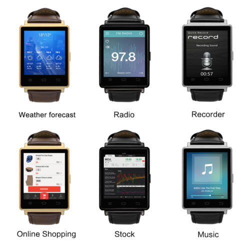 NO.1 D6 3G Smartwatch