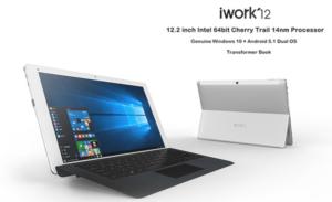 【クーポンで11% OFF】Surfaceクローン12.2インチ WUXGA『CUBE iwork12』が発売中~セールで3万円以下とお買い得