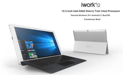 【クーポンで204ドル!】Surfaceクローン12.2インチ WUXGA『CUBE iwork12』が発売中~セールで3万円以下とお買い得