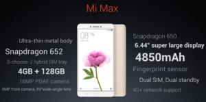 【セールで3万円まで価格下落】Xiaomi 6.4インチフルHD『Mi Max』発表~ズルトラ後継機になれる?