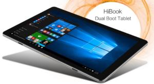 【クーポン追加】フルメタルボディの中華タブレット『CHUWI HiBook』10.1インチWUXGAで高級感あり
