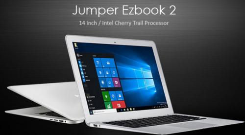 MBA風の安すぎる14インチノート『Jumper Ezbook 2』発売! RAM 4GB/フルHD搭載