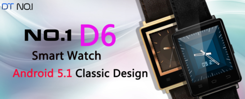 No.1 D6 smartwatch スマートウォッチ Android5.1