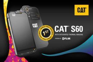 米キャタピラーのサーマルカメラ付きスマホ『CAT S60』のタフネスデザインが好き