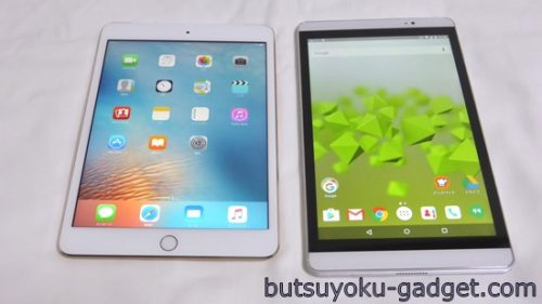 ipad mini3 vs dtab compact d-02h