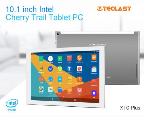 【クーポン有】安価なメタルボディ10.1インチタブレット『Teclast X10 Plus』はどう?