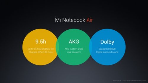Mi Notebook Air