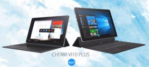 アスペクト比3:2の10.8インチタブレット『CHUWI VI10 PLUS』発売!Win10+Remix OSのデュアルOS版~