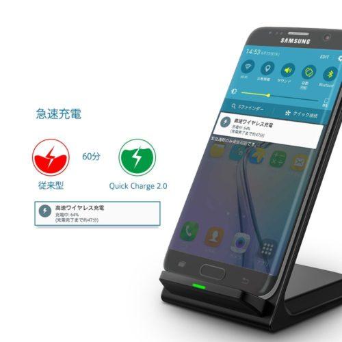 Seneo Qi ワイヤレス充電器