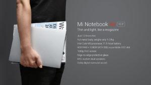 【再びセールで51,941円!】Xiaomiの約1kg/12.5インチノートPC『Mi Notebook Air 12』発売! Skylake Core m3/128GB SSDで素晴らしいコスパ