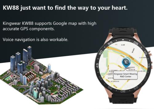 KingWear KW88 3G Smartwatch