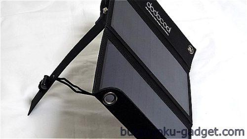 dodocool 2ポート ソーラーチャージー折り畳み式10000 mAhモバイルバッテリー