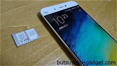 Xiaomi Mi5 実機レビュー DSDS