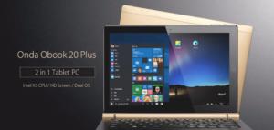10.1インチWUXGA『Onda OBook 20 Plus』発売! Windows10+RemixOSのデュアルOSタブレット